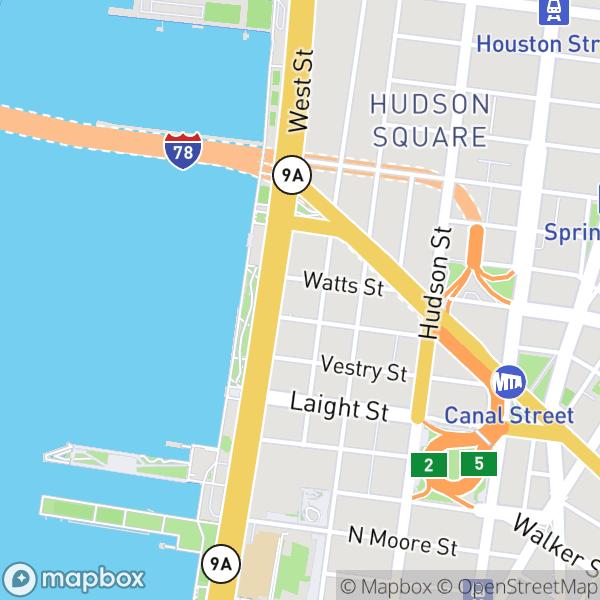 34 Desbrosses St #41458 Map