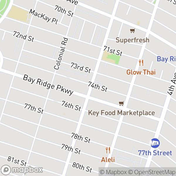7410 Ridge Blvd #1D Map