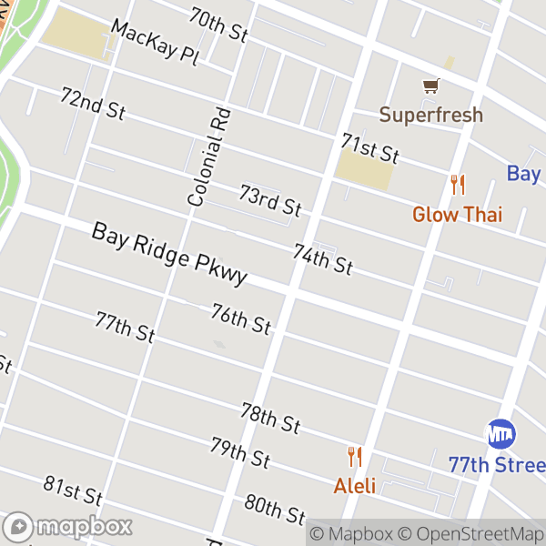 7420 Ridge Blvd #2A Map
