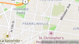 Map image of University of Pennsylvania