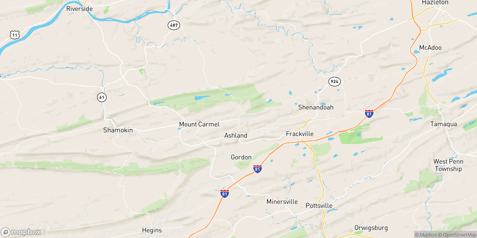 Map of PRICE IMPROVED: Schuylkill County Beer Distributor with Real Estate