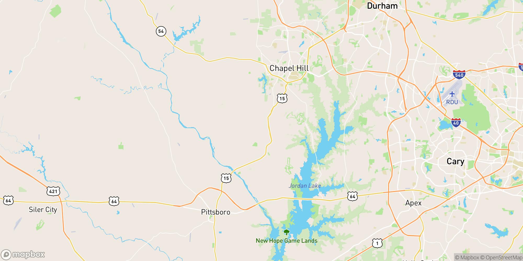 Map of Shadyside Turn-Key Restaurant – Pittsburgh