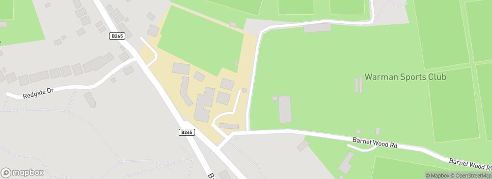 Hayes (Kent) Cricket Club Barnet Wood Road