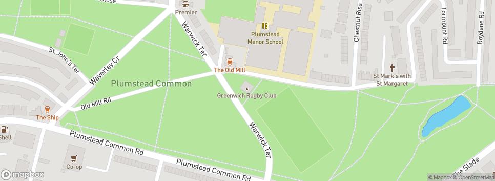 Greenwich RFC Old Mill Road