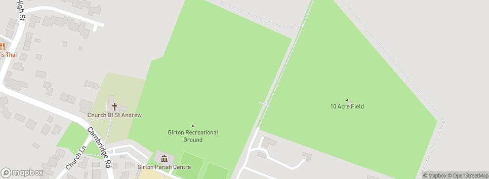 Cambridge City Youth FC U13 - U16 | Girton Recreational Ground
