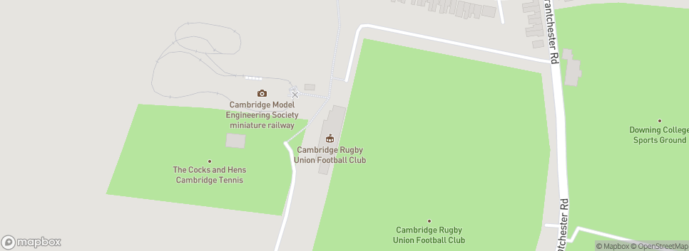 Cambridge RUFC Grantchester Road
