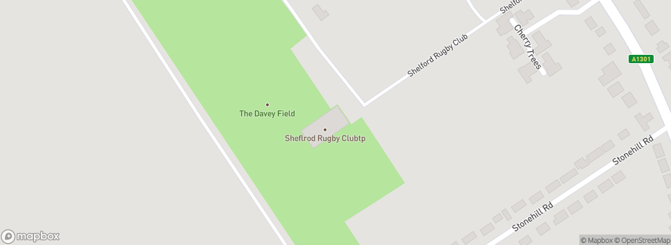 Shelford Rugby Club The Davey Field
