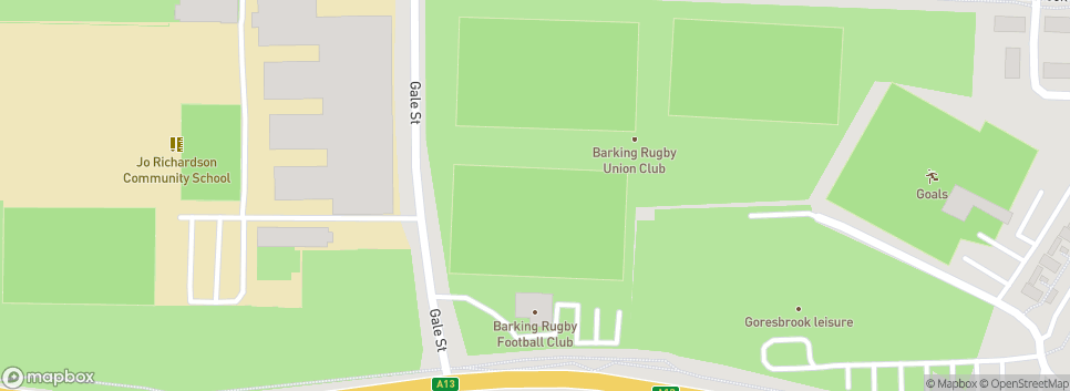 Barking Rugby Football Club Gale Street