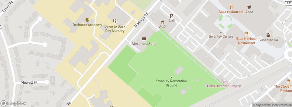 Swanley RFC Swanley Recreation Ground
