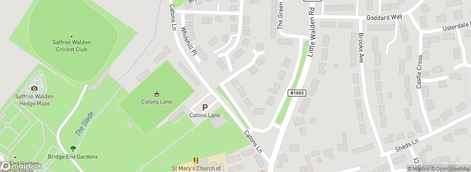 Saffron Walden Town FC Catons Lane