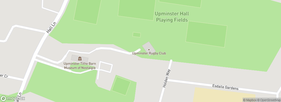 Upminster Rugby Football Club Hall Lane