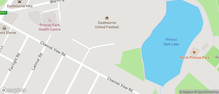 Eastbourne United FC (The Oval)