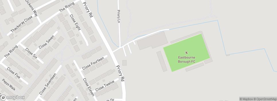 Eastbourne Borough FC Priory Lane