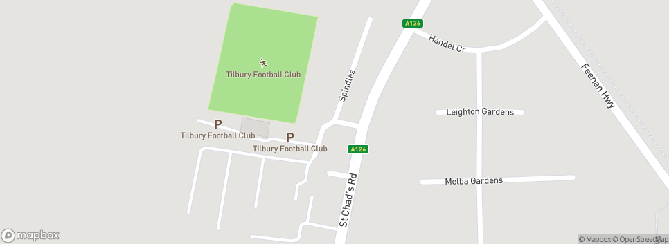 Tilbury Football Club Chadfields