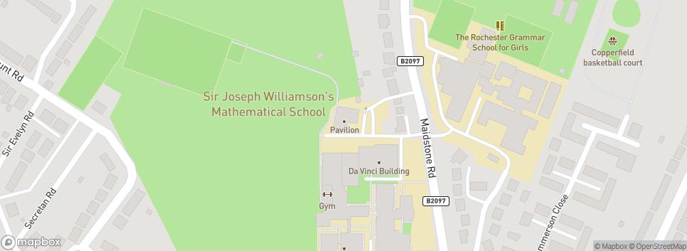 Old Williamsonian RFC Sir Joseph Williamson's Mathematical School Clubhouse