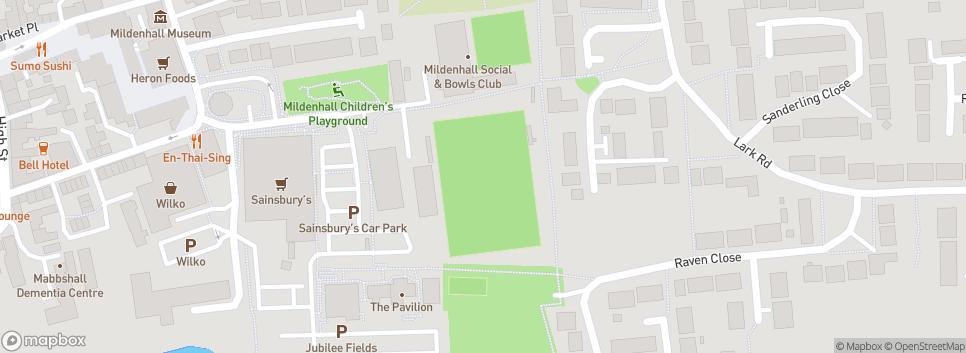 Mildenhall Town F.C. Recreation Way