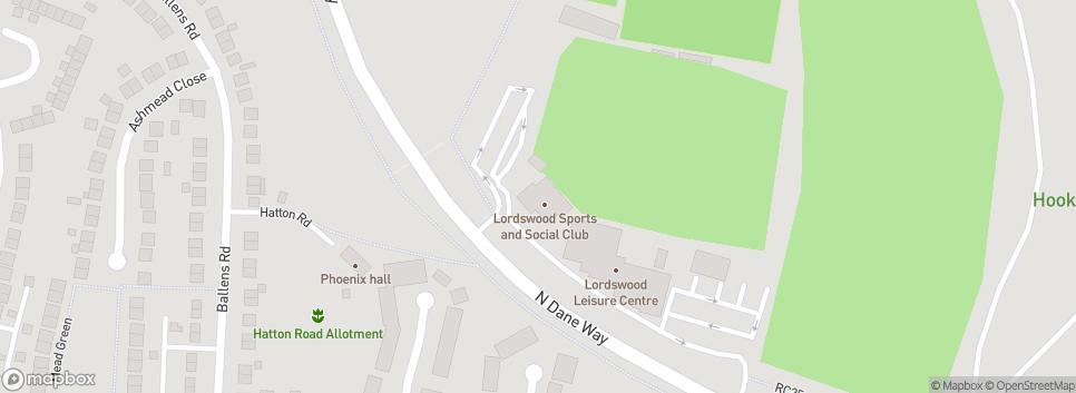 Bredhurst Rovers Football Club Lordswood Sports & Social Ground