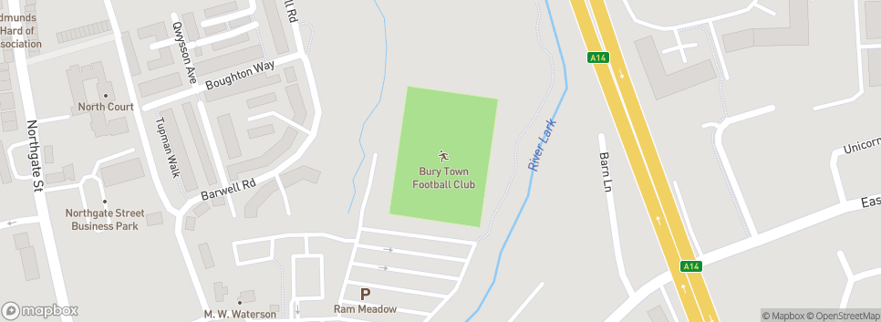 Bury Town Football Club Denny Bros Stadium