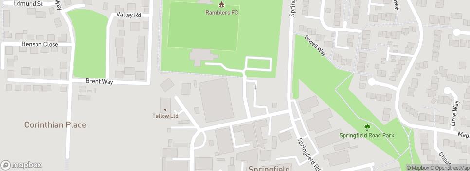 Burnham Ramblers FC Leslie Field