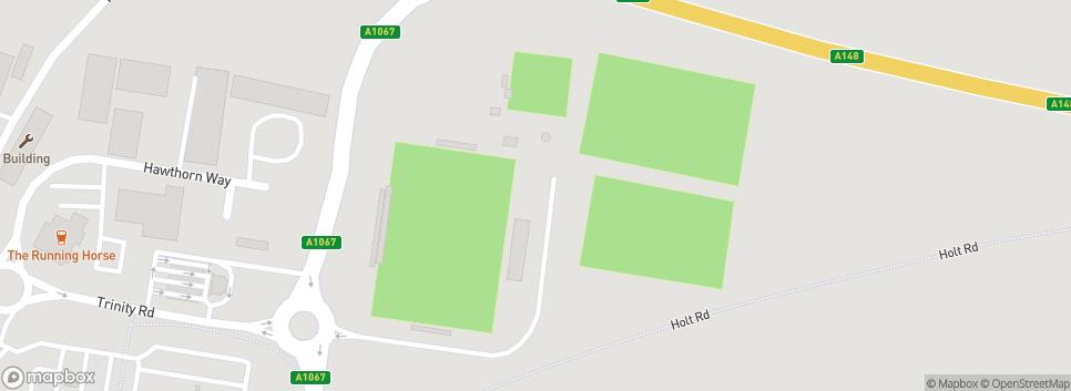 Fakenham Town Football Club Clipbush Lane