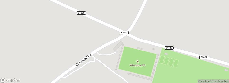 Wivenhoe Town F.C. Elmstead Road