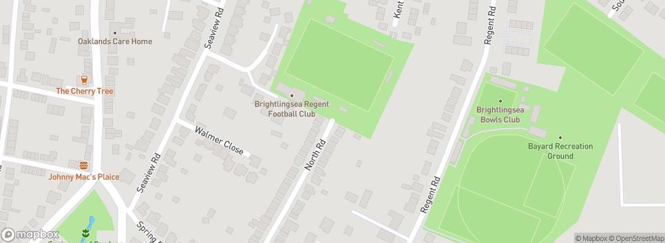 Brightlingsea Regent FC The Taydal Stadium