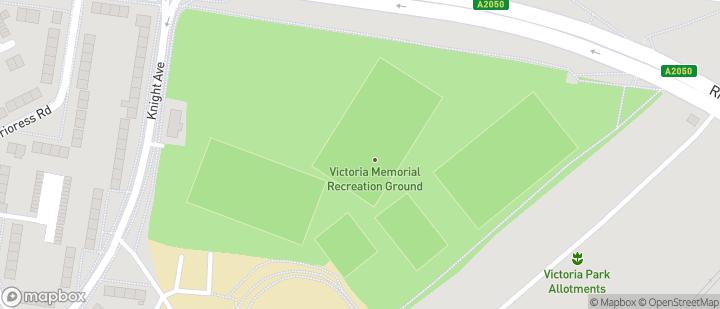 Victoria Recreation Ground, Canterbury