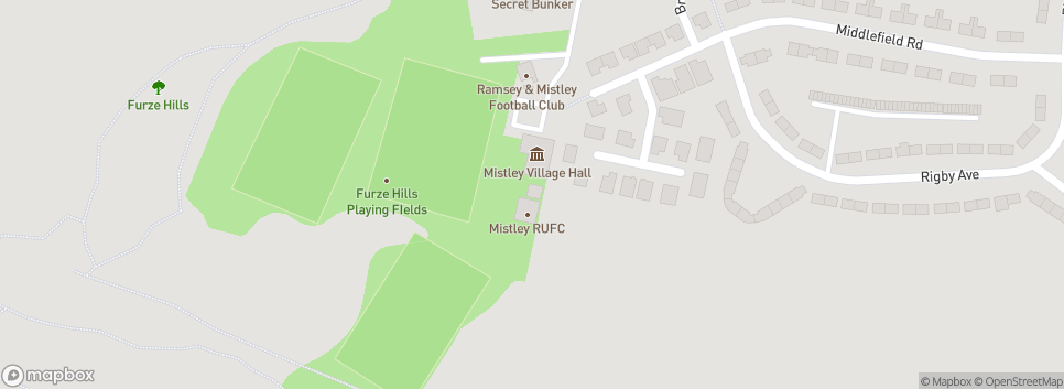 Mistley RUFC Furze Hill Playing Fields