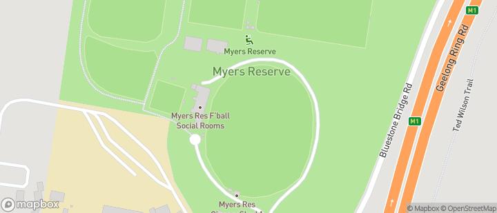 Myers Reserve - Geelong Rangers SC