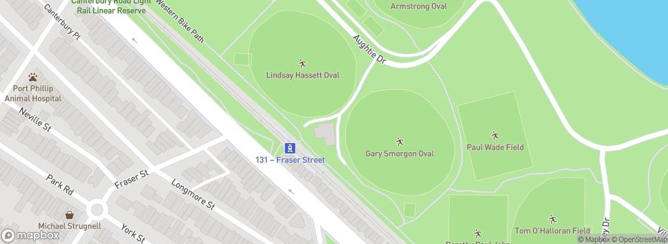 South Melbourne Districts Clarke Shields Pavilion (Oval 11-Lindsay Hassett Oval)