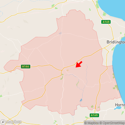 Location of Nafferton within YO25