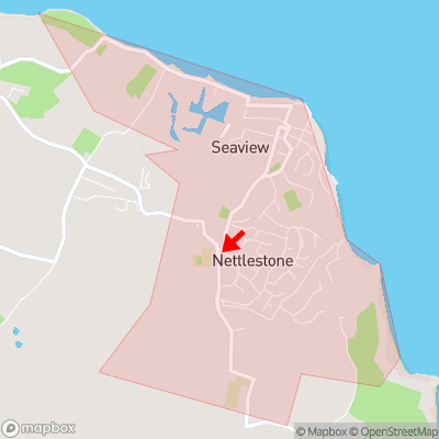 Location of Nettlestone within PO34