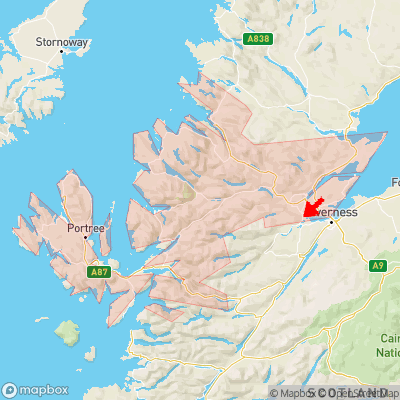 Location of Windhill within Ross and Cromarty