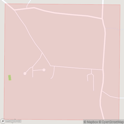 Map showing extent of North Sydmonton as bounding box