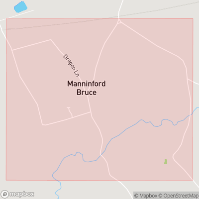 Map showing extent of Manningford Abbots as bounding box