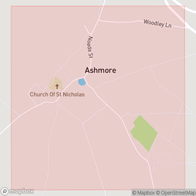 Map showing extent of Ashmore as bounding box