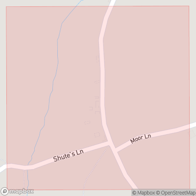 Map showing extent of Quarr as bounding box