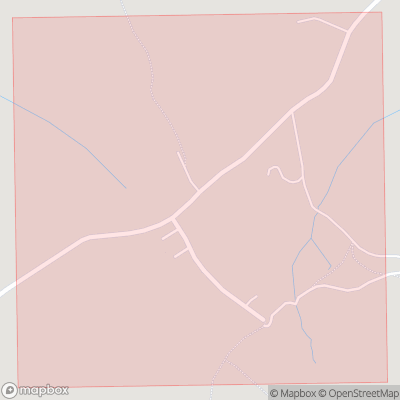Map showing extent of Fell Side as bounding box