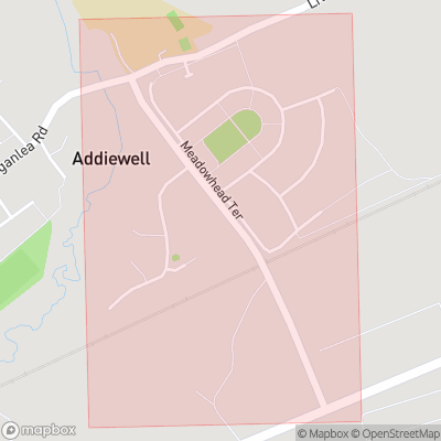 Map showing extent of Addiebrownhill as bounding box