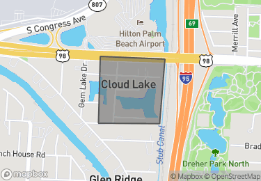 Map of Cloud Lake