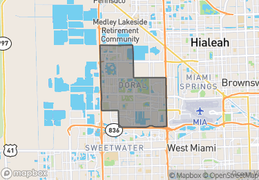 Map of Doral