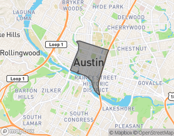Map of Downtown Austin