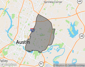Map of East Austin