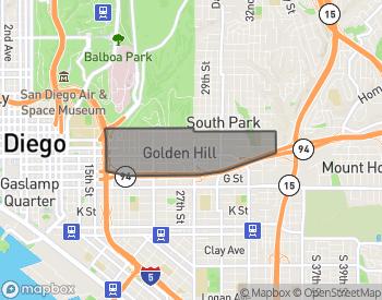 Map of Golden Hill