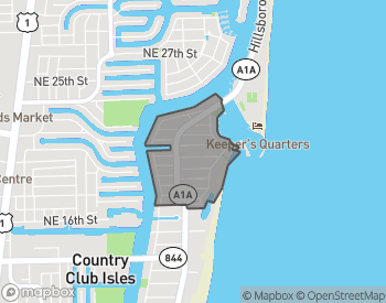 Map of Hillsboro Shores Real Estate