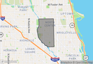 Map of Homes For Sale In North Center