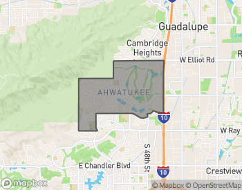 Map of Homes for Sale in Ahwatukee