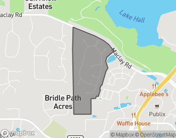 Map of Homes for Sale in Bobbin Trace