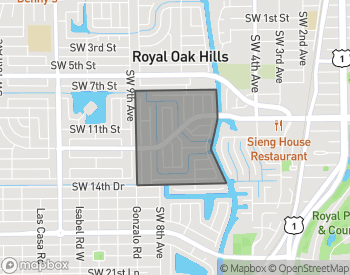 Map of Homes for Sale in Camino Gardens