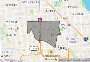 Map of Homes for Sale in Chatham